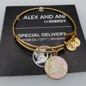 NWT Alex and Ani Special Delivery bangle